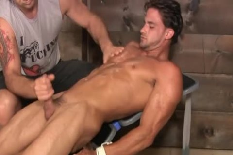 A Hunk Is Marturbate By A guy