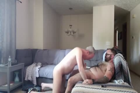 Daddy engulfing & Getting banged By young Bear