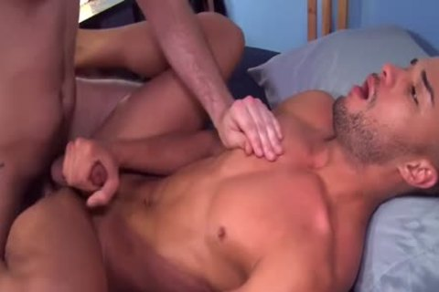 Javier acquires His wang Sucked By Adin before pounding doggy style