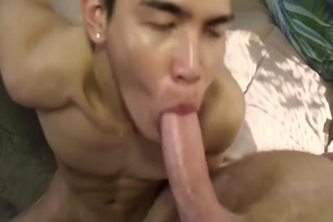 Smooth Little asian nailed By rough White Top