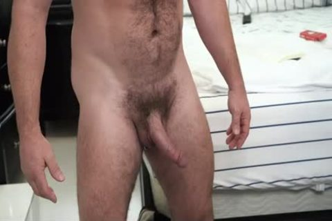 hairy Stepdad receives His 10-Pounder Sucked By Son