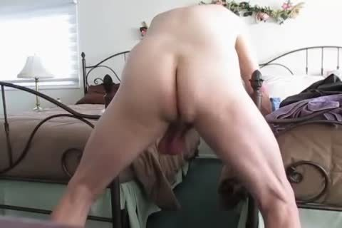 old man's Low Hangers. daddy Balls Swinging Back And Forth!