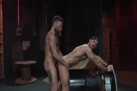 Arin Asker And Hoyt Walker From Beards Bulges And Ballsacks