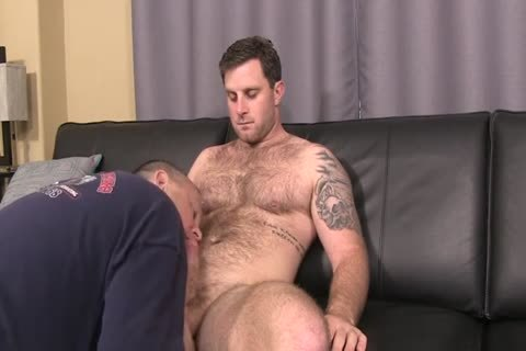 bushy Hunk With overweight cock Full Service