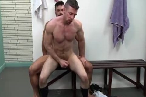 Public Homo plow With Unknown Person