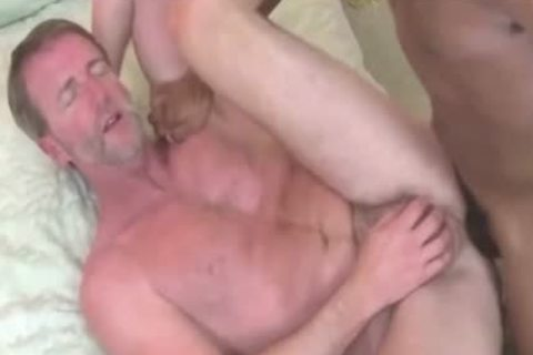dad Getting hammered By young lad