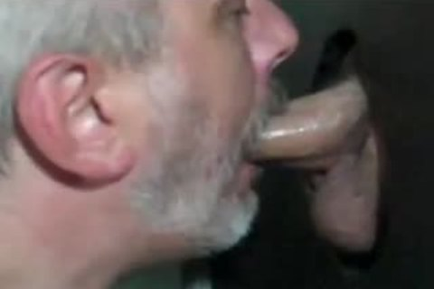 Grey Bearded older Shows How To suck At GH: bj-HJ-drink