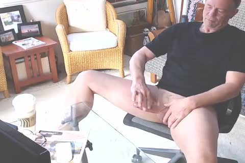 gigantic penis Daddy Jacking Off