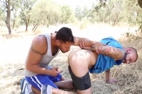 Outdoor Facial cum With Victor Rom