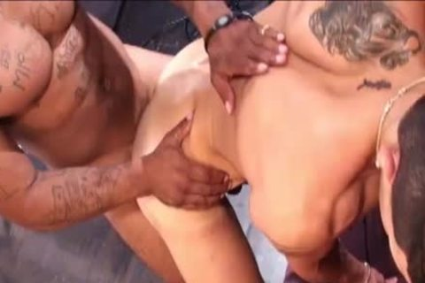 dirty Latino receives poked By BBC