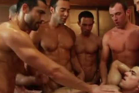 SEX gay video group bunch-sex orgy By GrzeGoRzUni1988