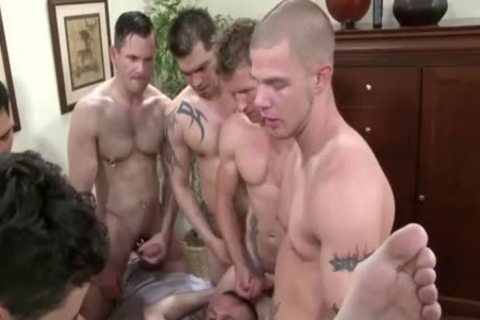 Dylan receives team-pounded By Muliple excited males