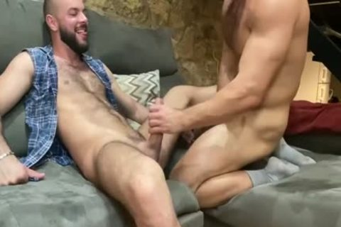 They Take Turns pounding Each Other