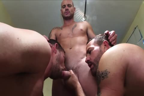Jake Ryder Kurt Rogers And Matthew Ford Suited three-some